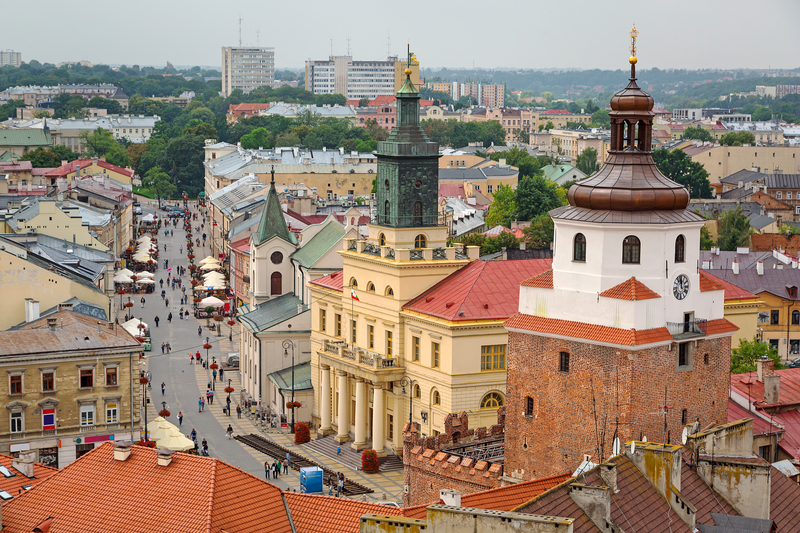 WAUW! 4-daagse City Trip naar Lublin, Polen al v/a 52 - TicketSpy