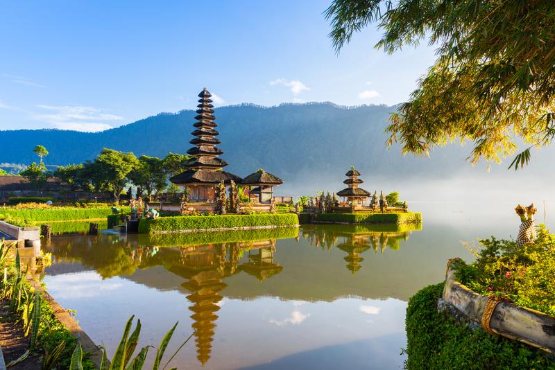 Bali Tickets! Bezoek zo ook de tempel op het water.