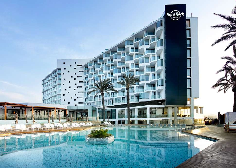 Hard Rock Hotel op Ibiza