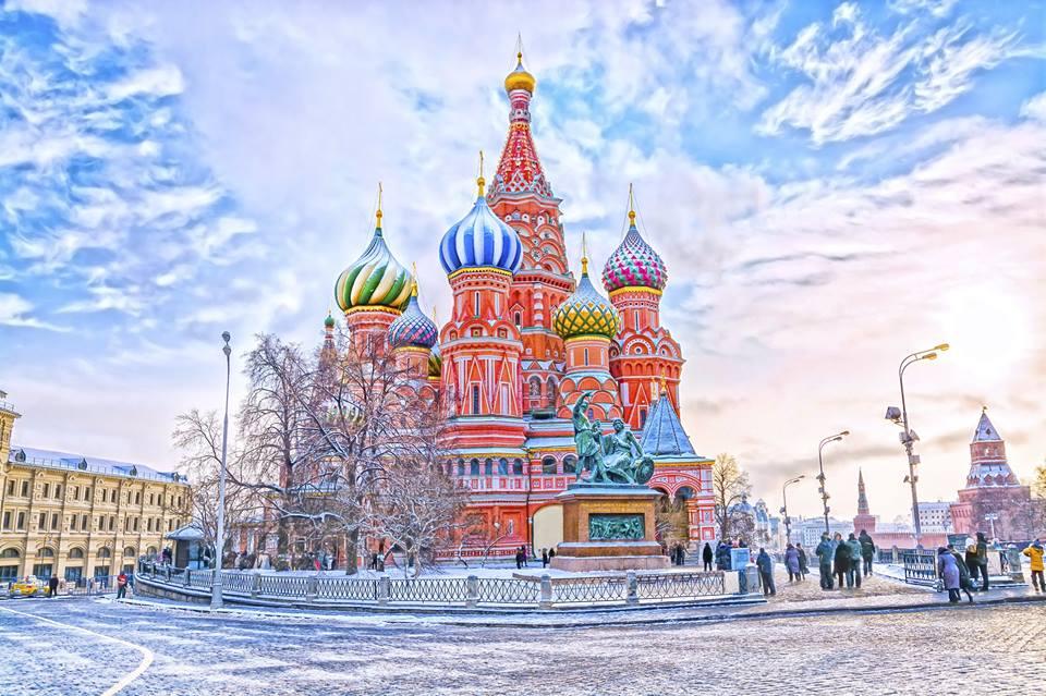 Gebouw in Moskou
