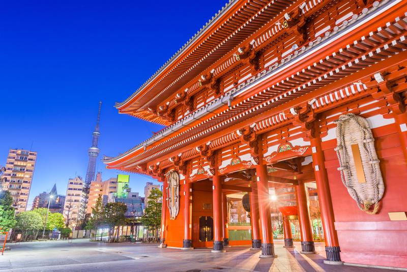 Vliegtickets naar Tokio