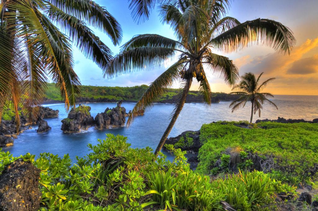 Landschap van Hawaii