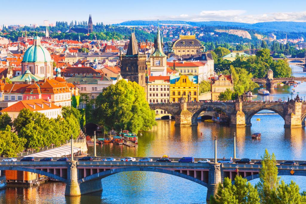 City trip Praag