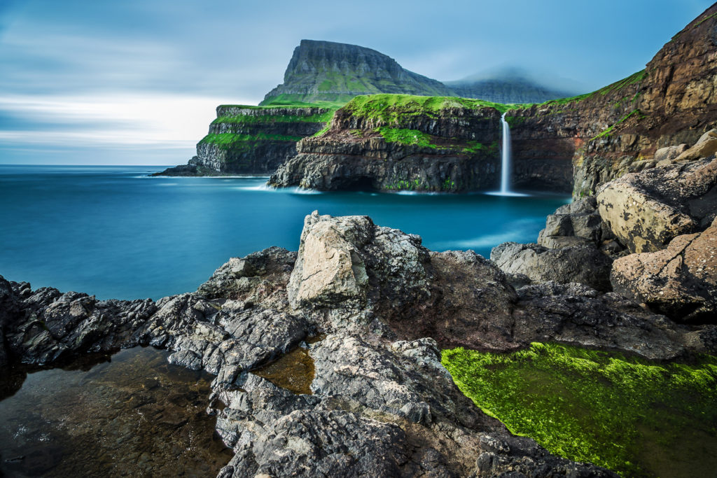 KLM + Atlantic Airways Tickets naar de Faeröer Eilanden