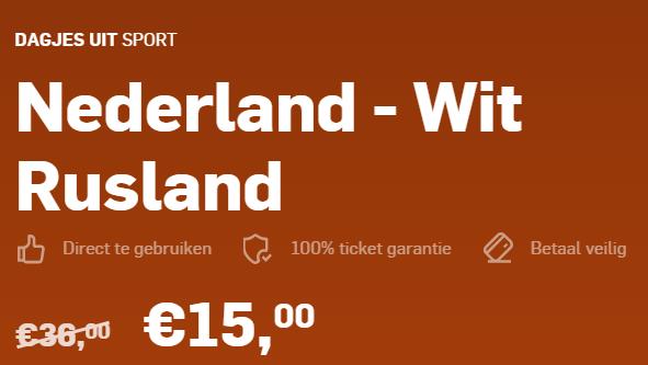 Nederland Wit Rusland
