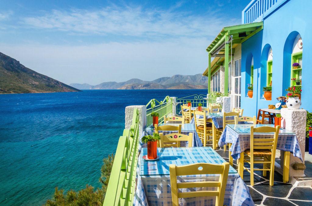 foto goedkope zonvakantie naar Lesbos