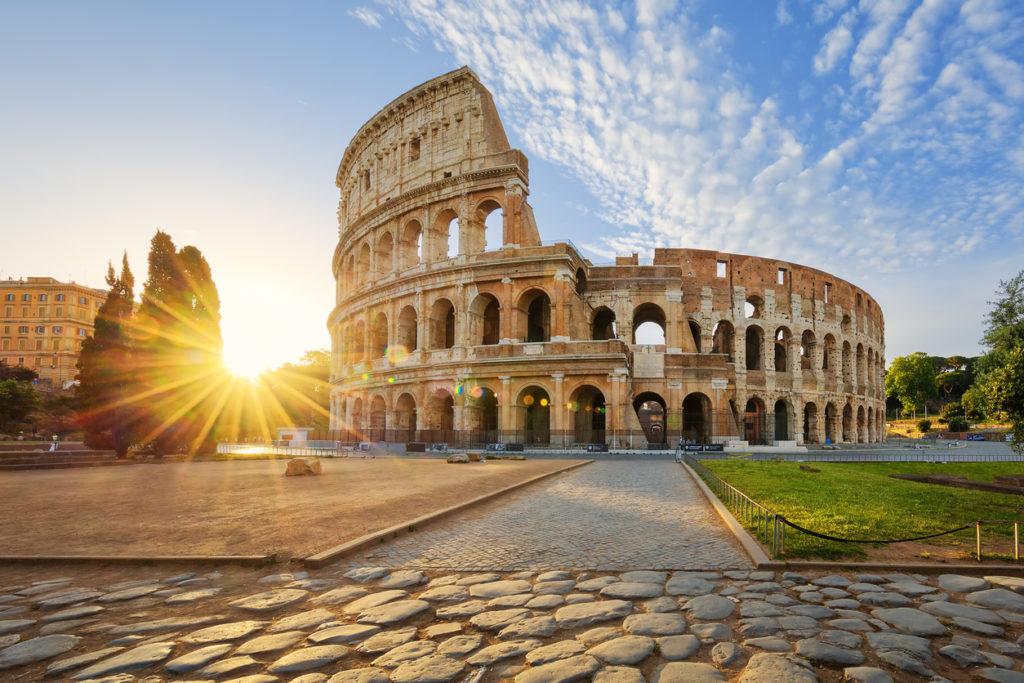 Colosseum tijdens City Trip naar Rome