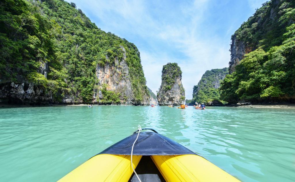 Vakantie naar Thailand