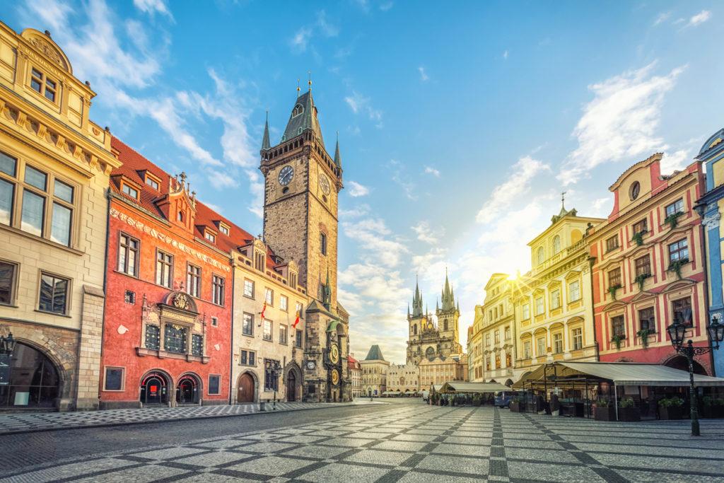 goedkope stedentrip naar Praag