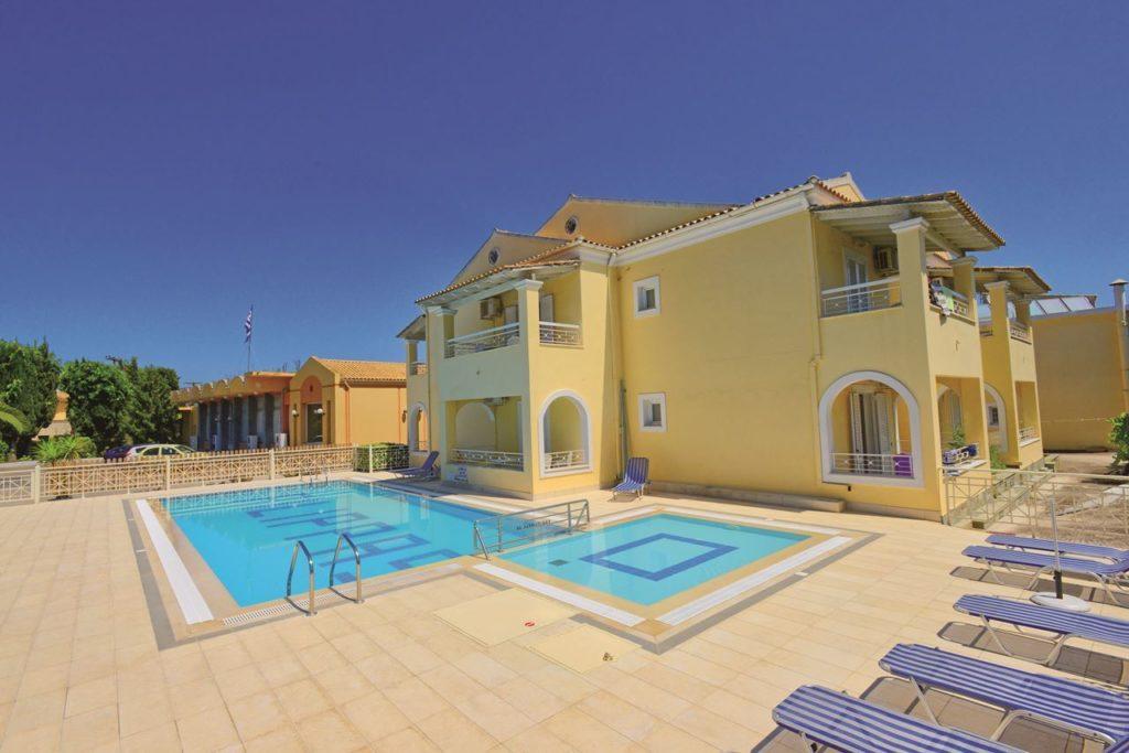 foto goedkope zonvakantie naar Corfu