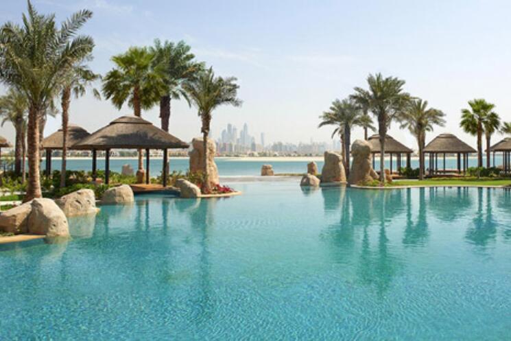 foto heerlijke zonvakantie naar Dubai
