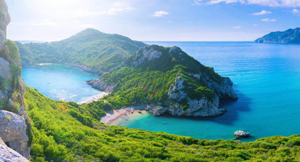 foto meivakantie naar Corfu