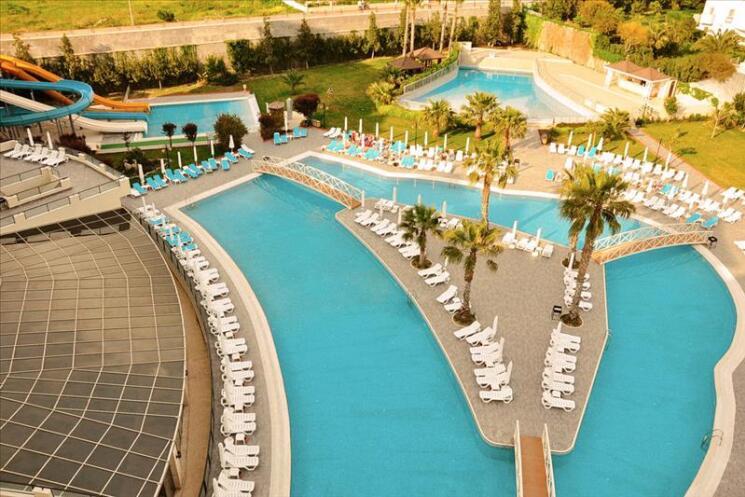 foto all inclusive vakantie naar Turkije
