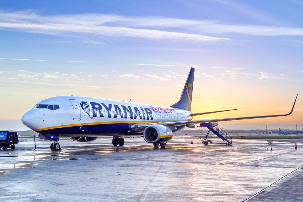 Cyber Monday Ryanair Tickets naar Europa Sale