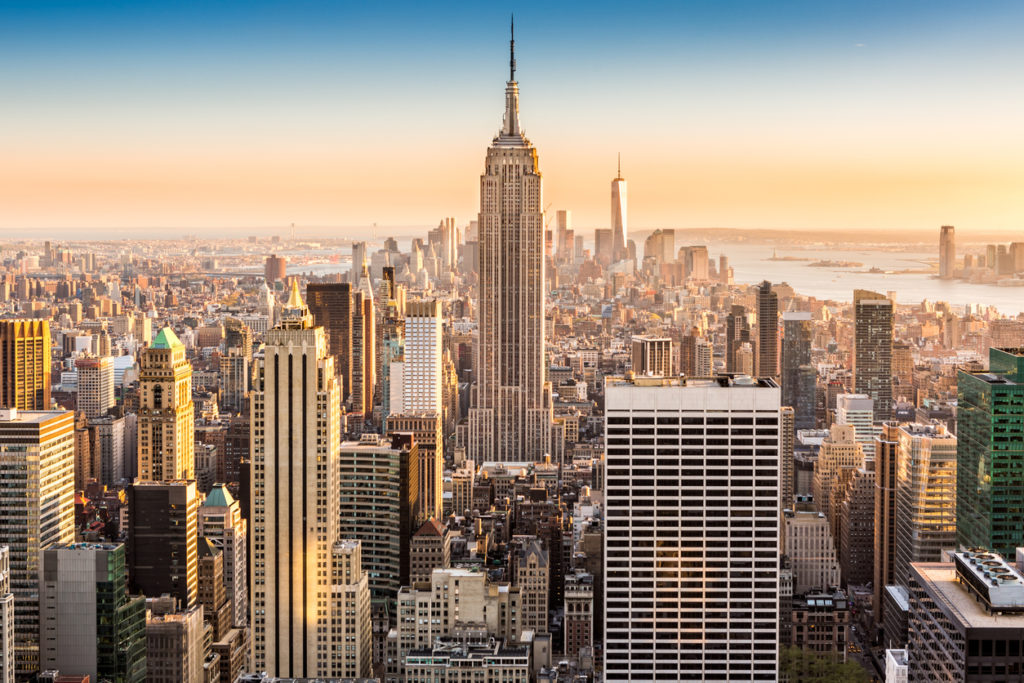 Retourtickets naar New York