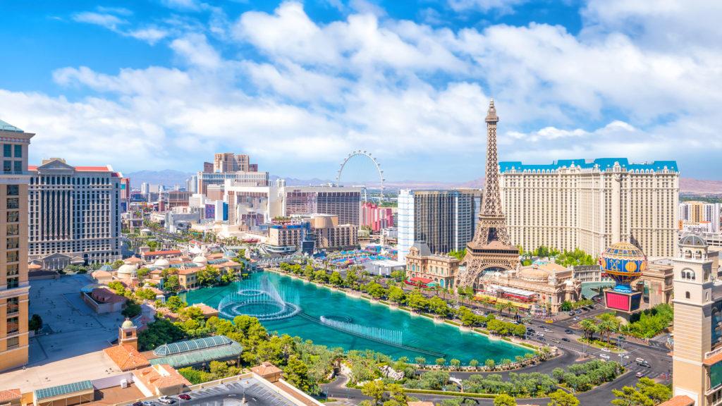 Vliegtickets vanaf Parijs naar Las Vegas