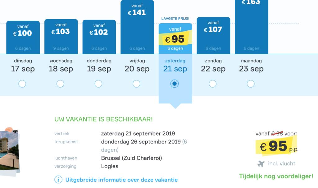 Check snel de prijzen naar Veneto