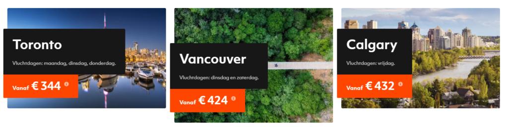 Canada Ticket sale