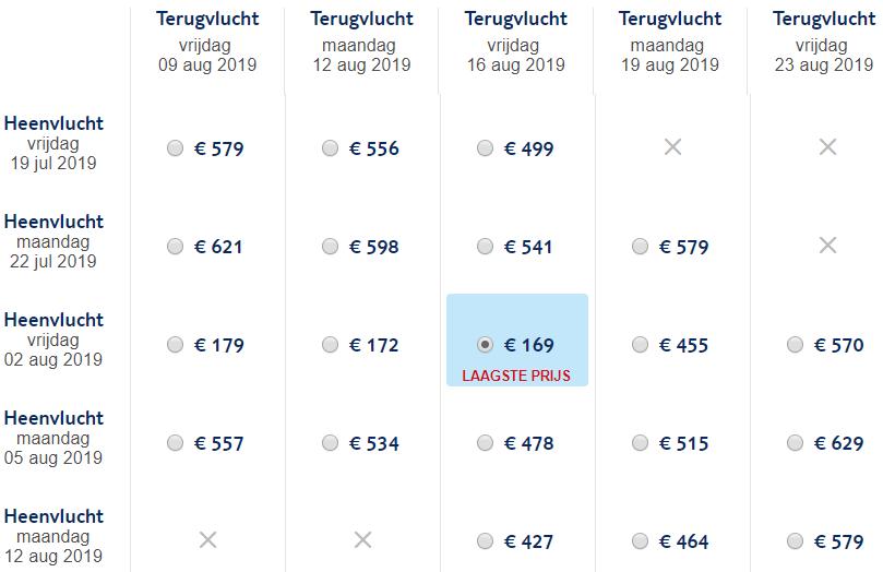 Santorini retourtickets