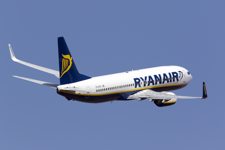 Ryanair Europa Ticket Sale