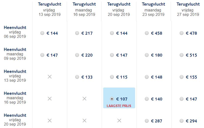 Zomer retourtickets Santorini