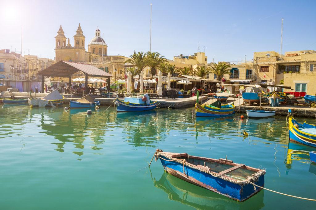 zonvakantie naar Malta