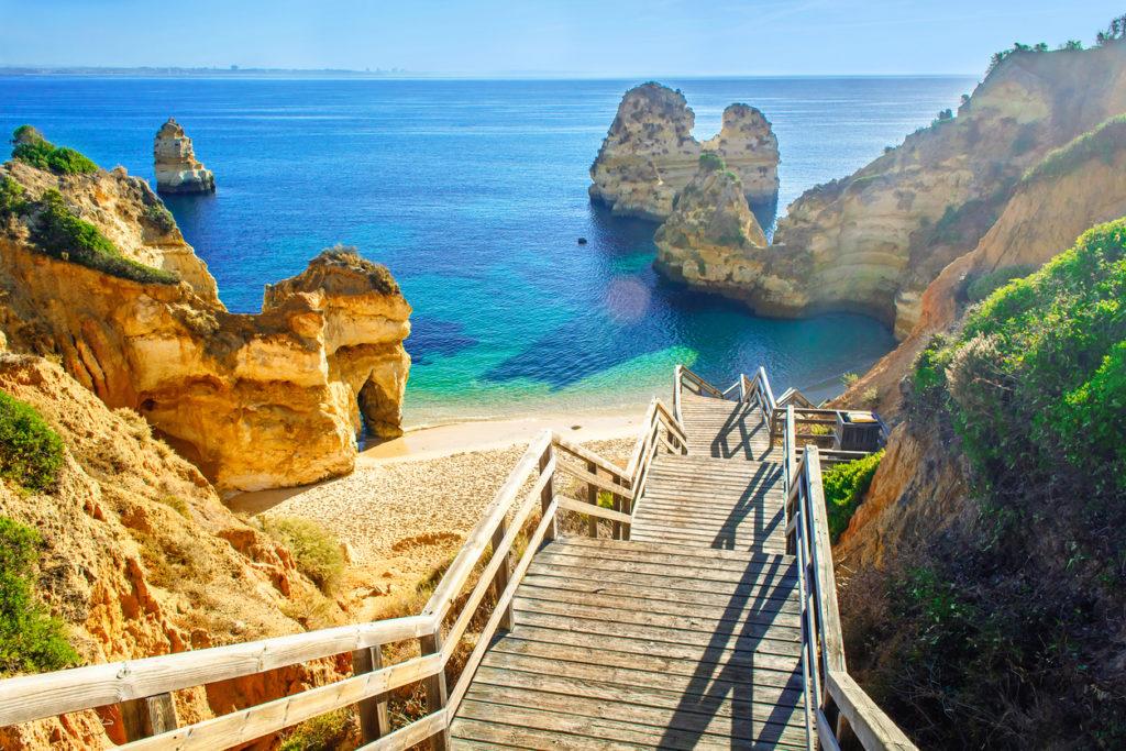 zonvakantie naar Portugal