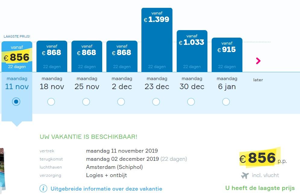 Bali 3 weken vakantie