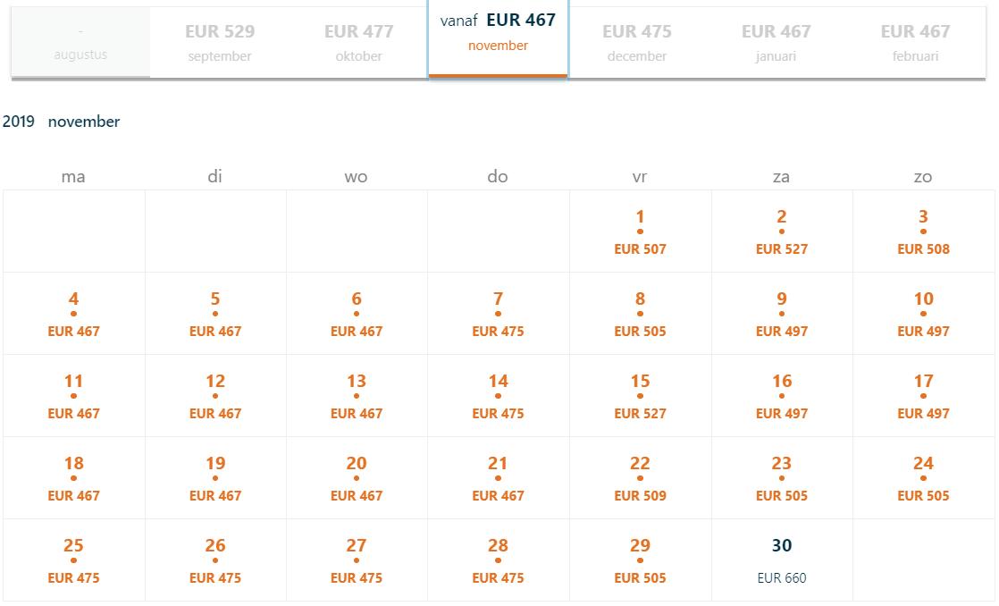 KLM Werelddeal tickets Seattle