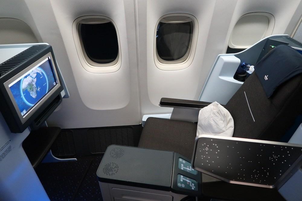 KLM + Air France Business Class Tickets van Amsterdam naar Bangkok