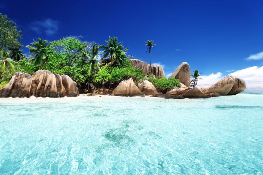 Retourtickets naar de Seychellen