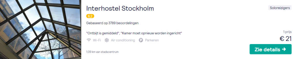 City Trip Stockholm