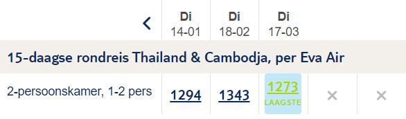 Rondreis door Cambodja Thailand