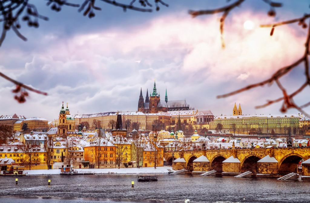 Winter City Trip Praag