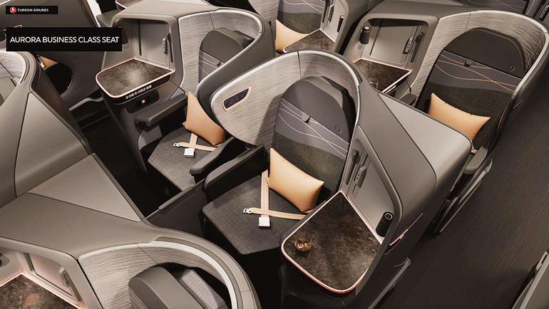 Turkish Airlines Business Class Bali