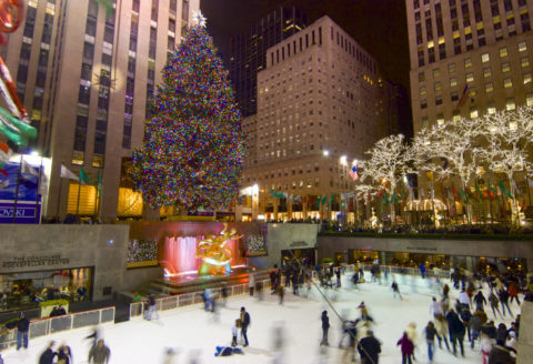 Deals, Kerst, Noord-Amerika, New York