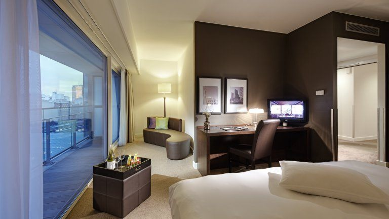 Lindner WTC Hotel en City Lounge Antwerp