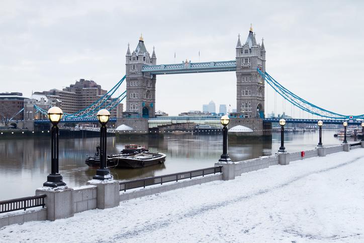 Londen Winter City Trip