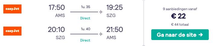 Vliegtickets naar diverse bestemmingen in Europa v/a 22