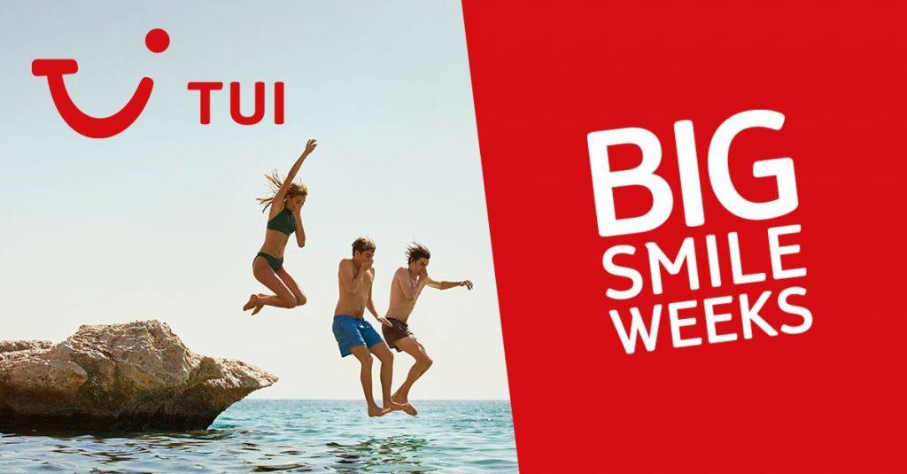 TUI Big Smile Weeks 200 euro korting