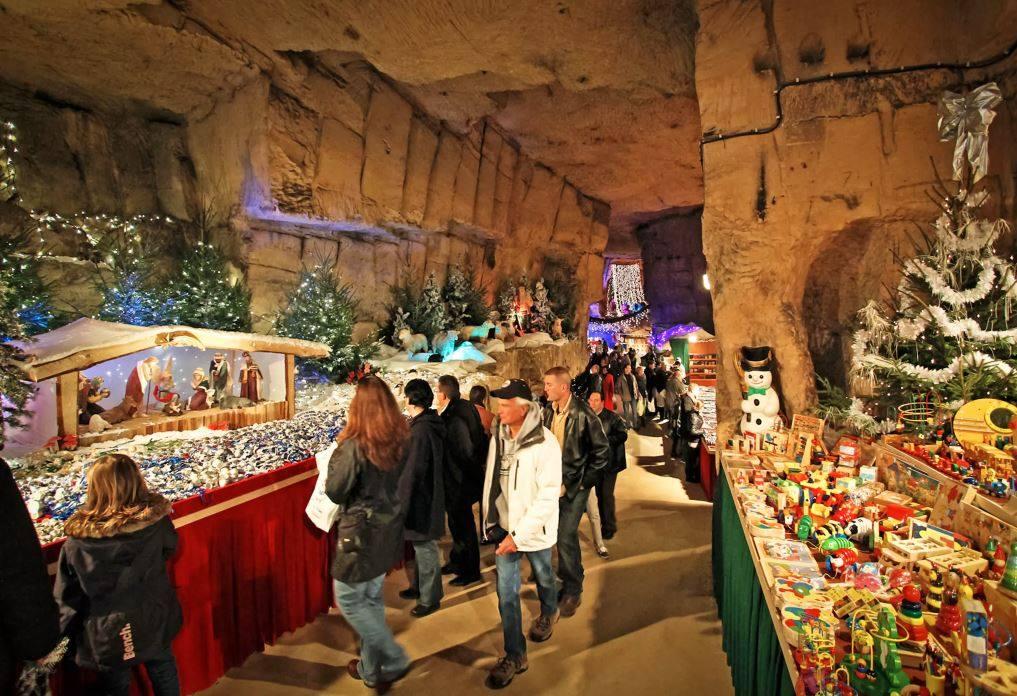 Kerstshoppen in Valkenburg