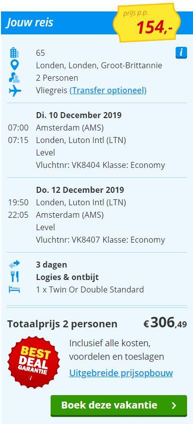 Kerst City Trip naar Londen v/a 154