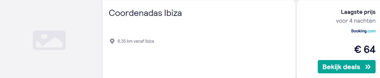 Zonvakantie naar Ibiza