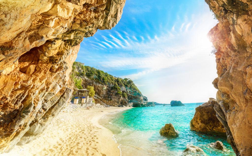 vakantie naar corfu