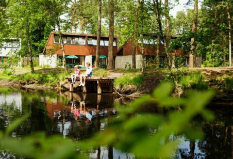 Bungalows, Vakantiehuis, Nederland,