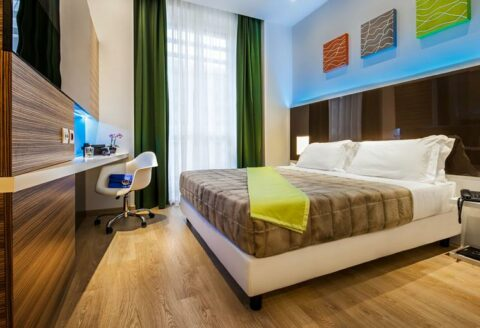 Vlucht + hotel, Vakantie, Europa,